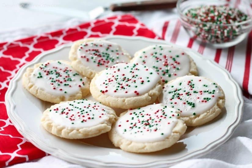 Christmas Meltaway Cookies