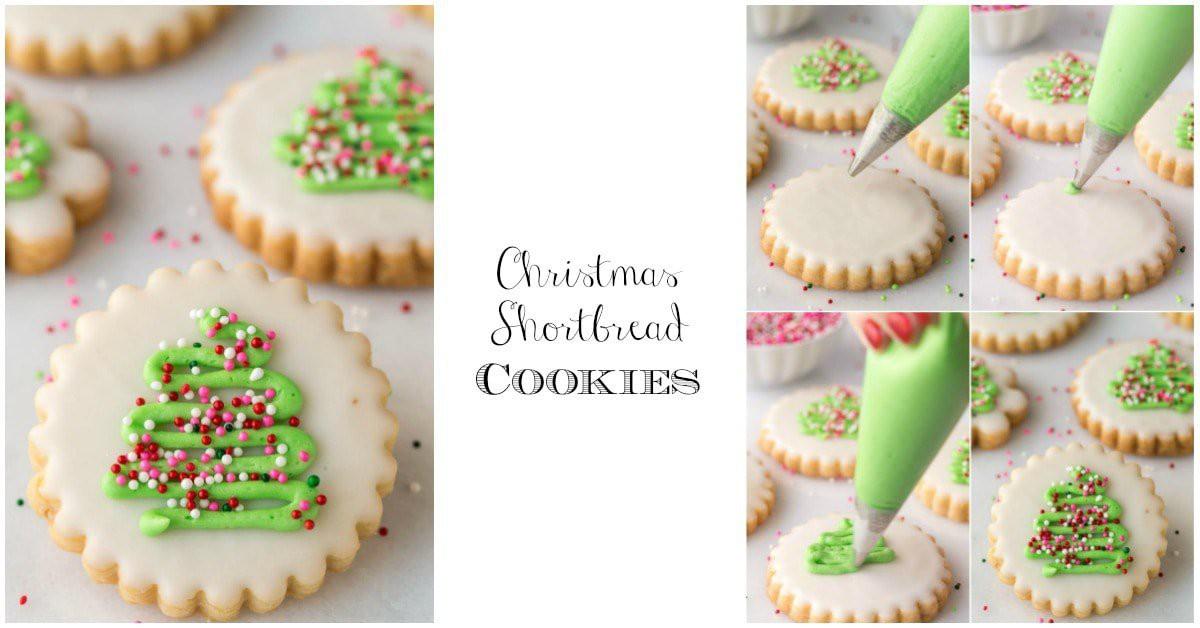Christmas Shortbread Cookies.Christmas Shortbread Cookies