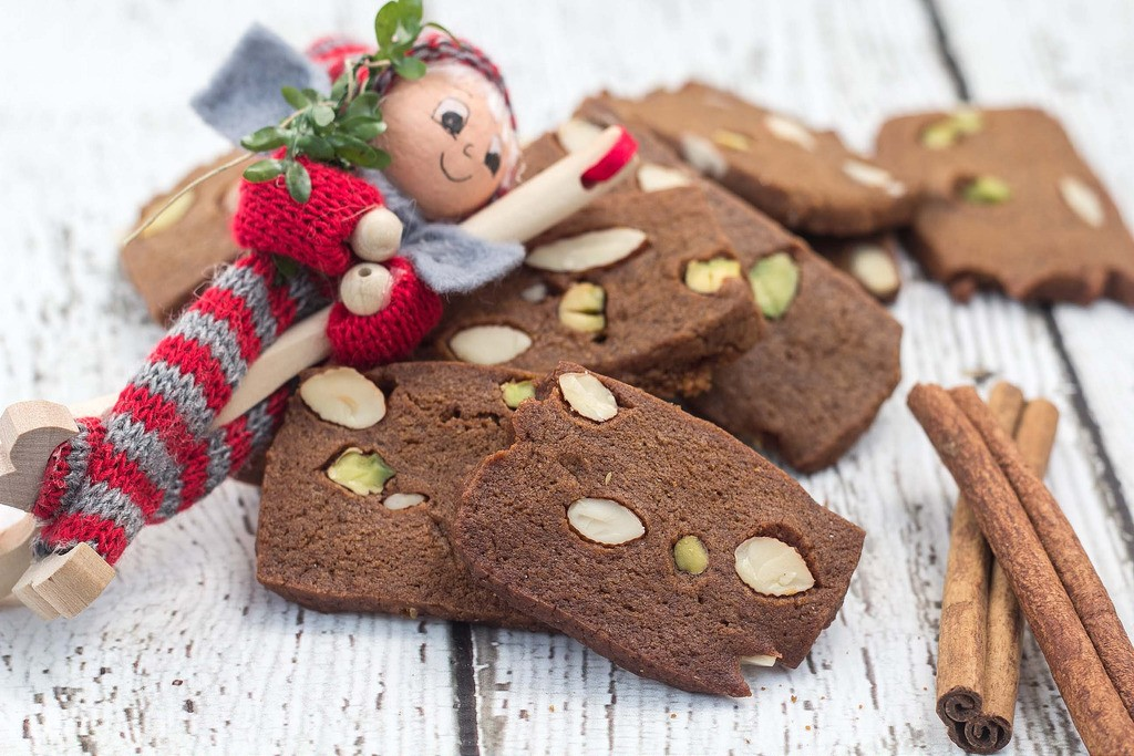 Danish Brown Cookie Brunkager Traditional Christmas