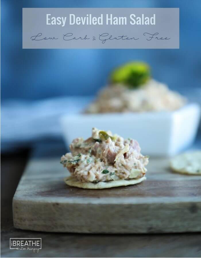 Easy Deviled Ham Salad