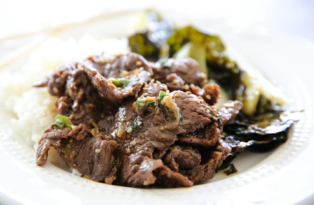 Easy Korean Bbq Beef (Korean Bulgogi)   Julianne McCracken ...