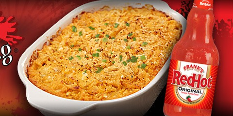 Red Hot Buffalo Chicken Dip Recipe