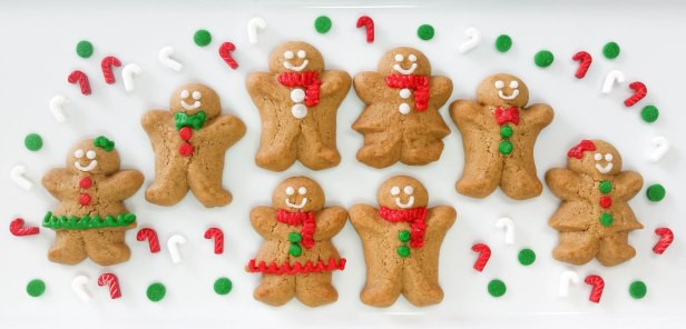 Gingerbread Spritz Cookie Boys Girls With Video