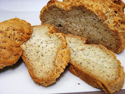 Gluten Free, Egg Free, Yeast Free Bread