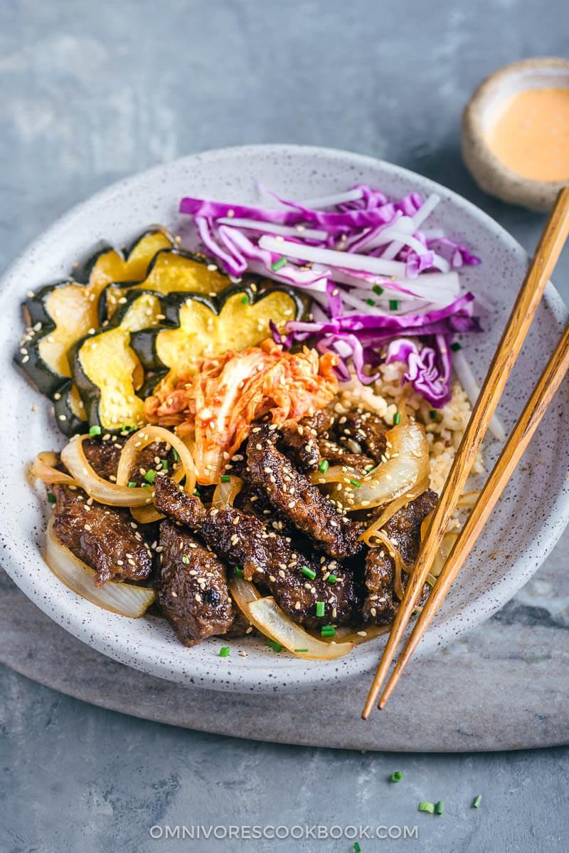 Korean Beef Bulgogi Bowl (Perfect for Meal-Prep) | sharynn ...