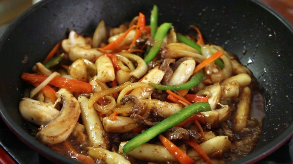 Korean Royal Court Stir Fried Rice Cakes Gungjung Tteokbokki Sanserif Copy Me That