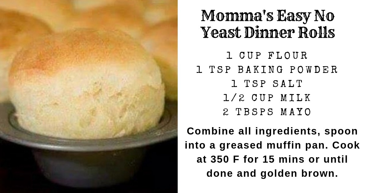 Easy No Yeast Dinner Rolls Paula Joy Miller Copy Me That