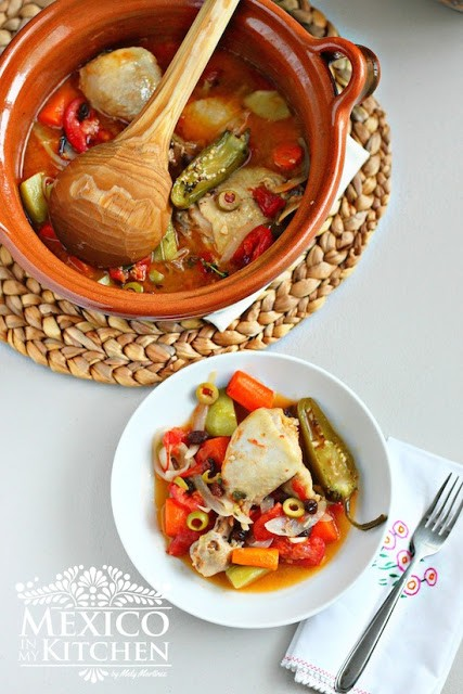 Mexico In My Kitchen Easy Chicken Stew Olla Tapada Authentic Mexican Food Recipes Traditional