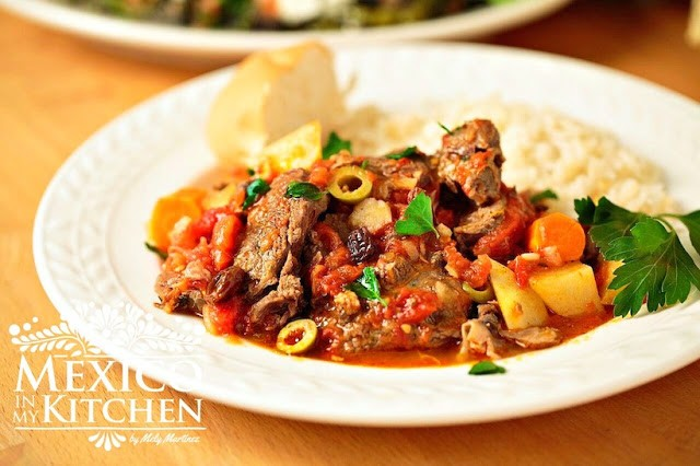 Mexico In My Kitchen Mexican Beef Stew Recipe