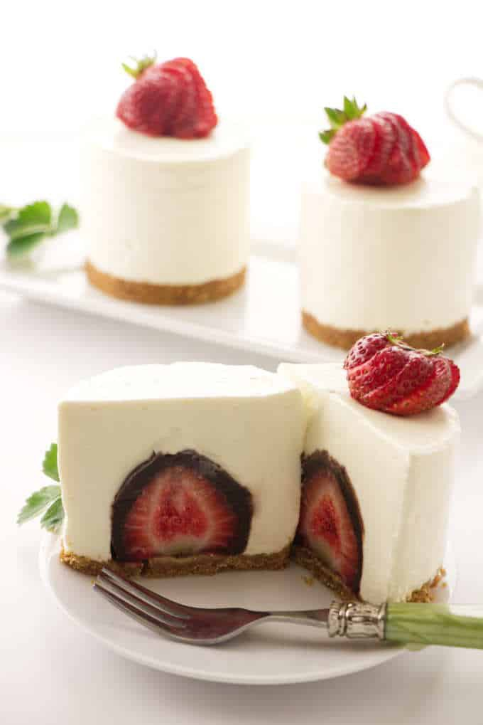 No Bake Cheesecake With A Surprise Inside Callie Copy