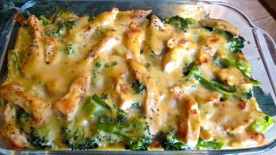 Skinny Chicken Broccoli Casserole | JJKoba81 | Copy Me That