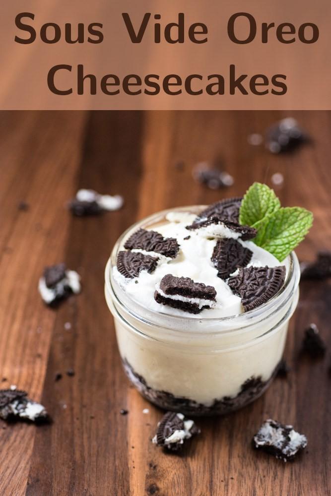 Sous Vide Oreo Cheesecake Shelini Uppal Parikh Copy Me That