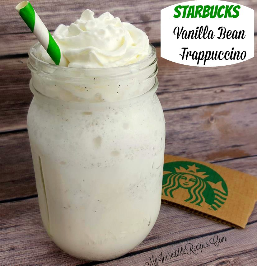 Starbucks Vanilla Bean Frappuccino Copycat