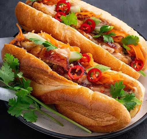 Bildresultat för banh mi pork belly
